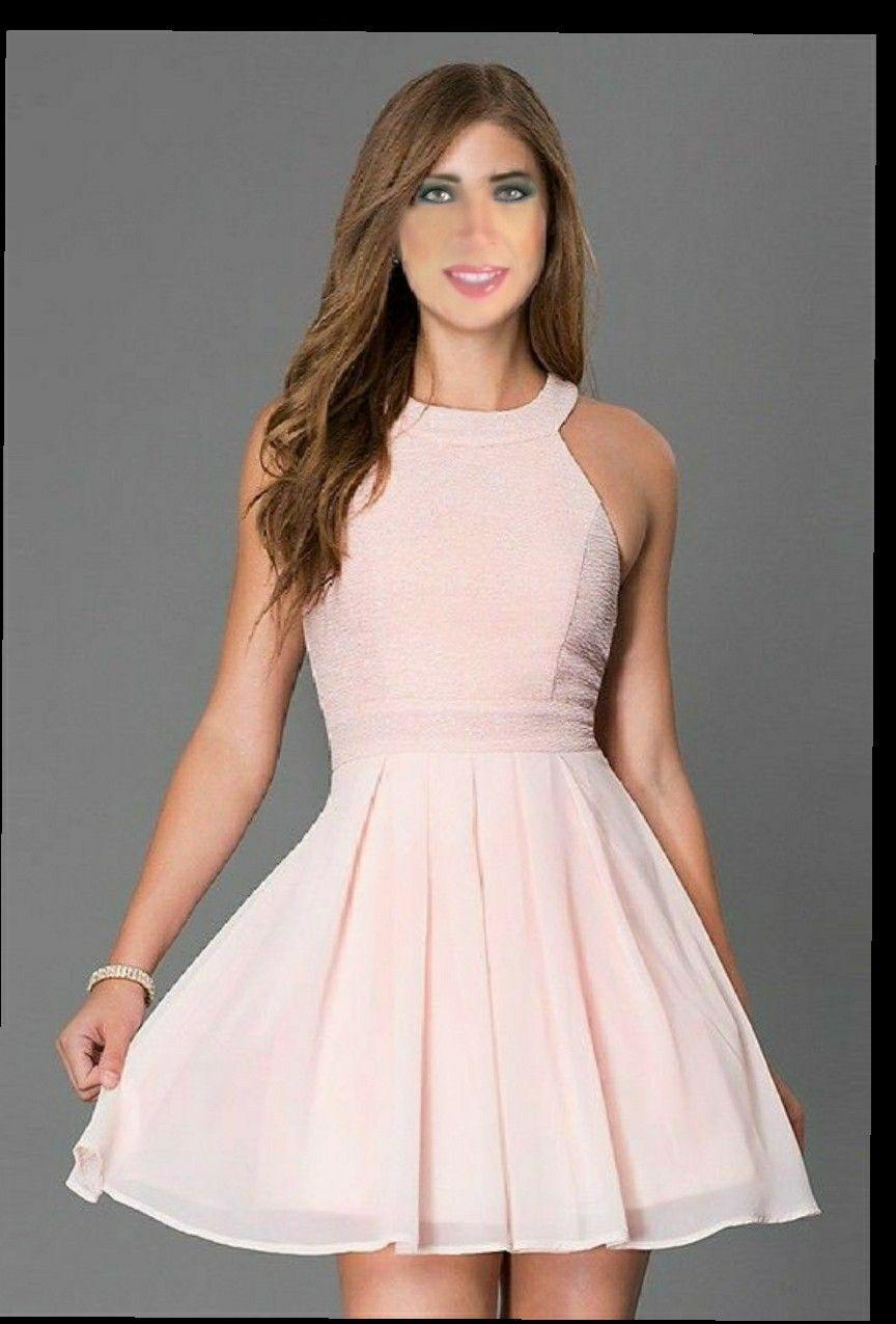Modelos de vestidos circulares cortos