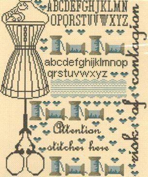 Sewing Themed Cross Stitch Patterns & Kits (Page 2