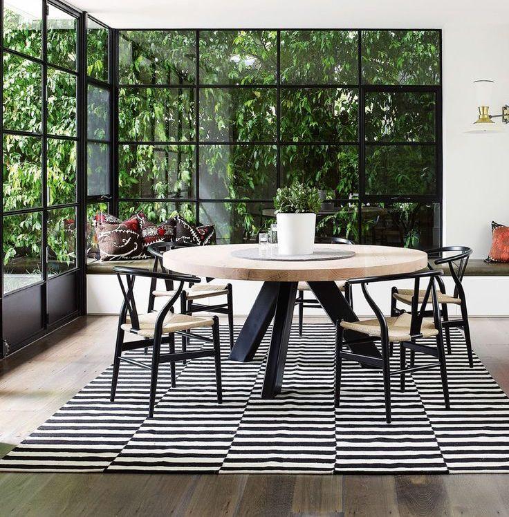 10x de mooiste interieurs met zwarte kozijnen | Ramen, Interiors and ...
