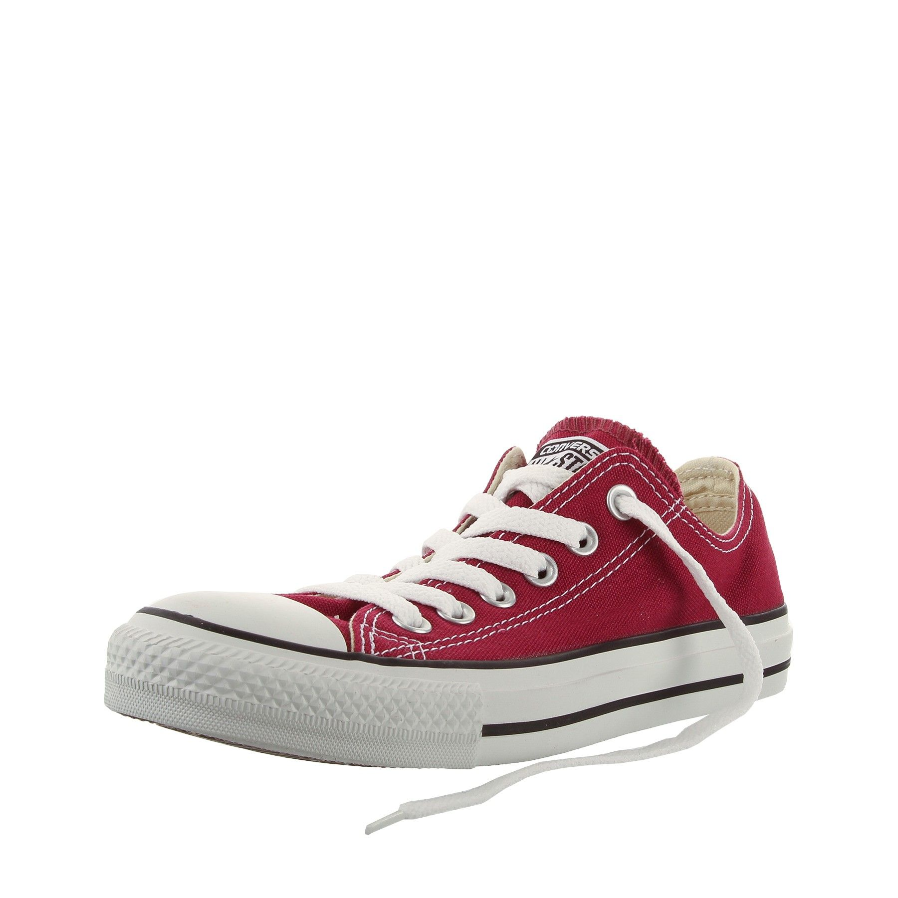 NUOVO All Star Converse Chucks Low Sneaker Ox can Maroon m9691 High Top Sschuhe