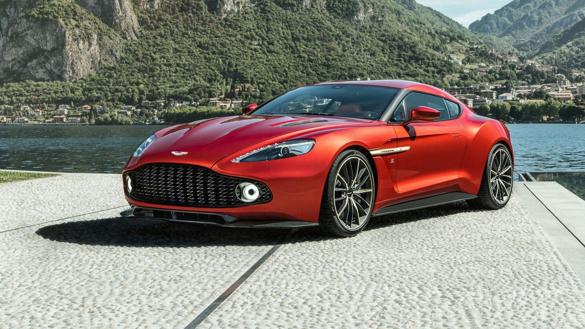 2017 Aston Martin Vanquish Zagato Hd Wallpaper Ihd Wallpapers