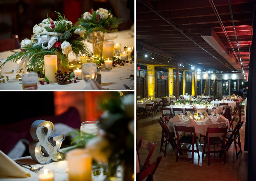 Milwaukee Wedding Photographer Winter Low Light Cuvee Reception Dark Night