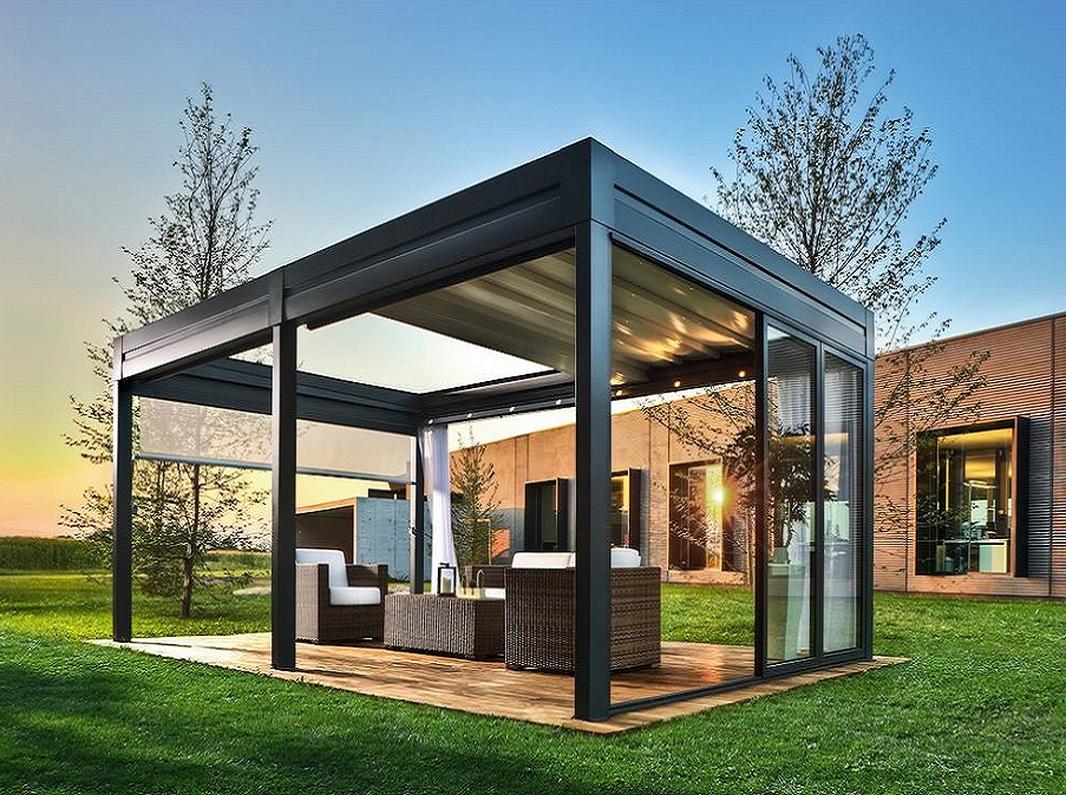 Glass Gazebo Modern Designs