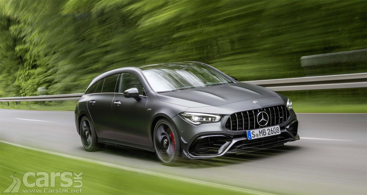 Mercedes Amg Cla45 S Shooting Brake Joins Mercedes A Class 45s Cars Uk Mercedes Amg Shooting Brake Mercedes A Class