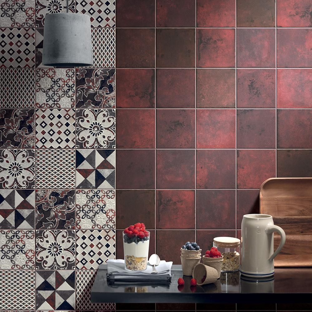 Carrelage Sol Et Mur Decor Imitation Carreaux De Ciment 20x20