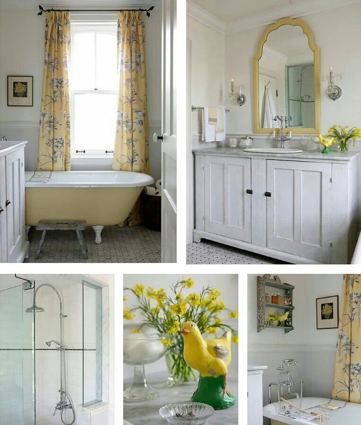 sarah richardson bathroom yellow