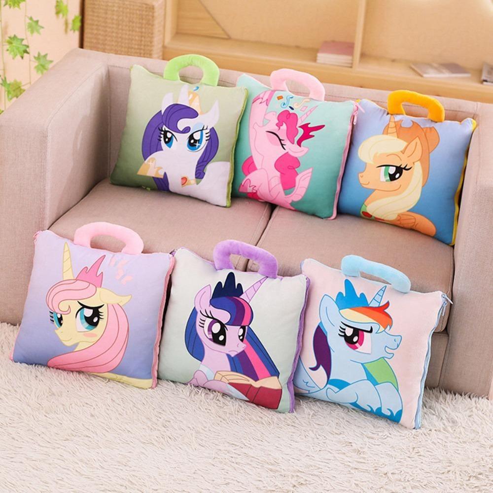 Unicorn Pillow Case Cartoon Cushion