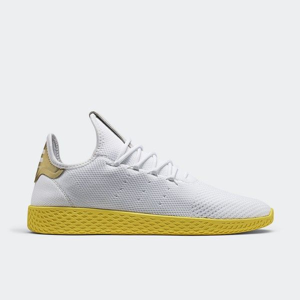 Pharrell Tennis Hu White Yellow 130 Adidas Pharrell Williams Williams Tennis Pharrell Williams