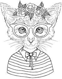 Image Result For Contemporary French Colouring Books Cat Coloring Book Cat Coloring Page Animal Coloring Pages