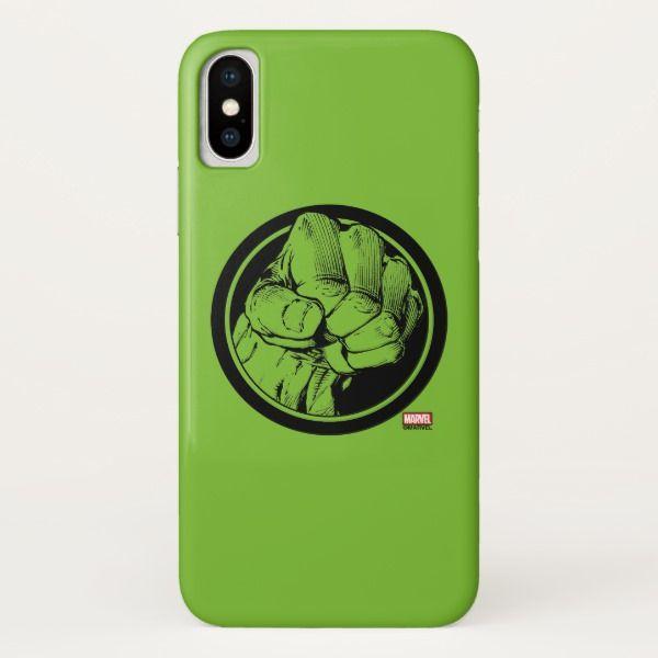 Avengers Hulk Fist Logo Iphone X Case In 2018 Custom Branded