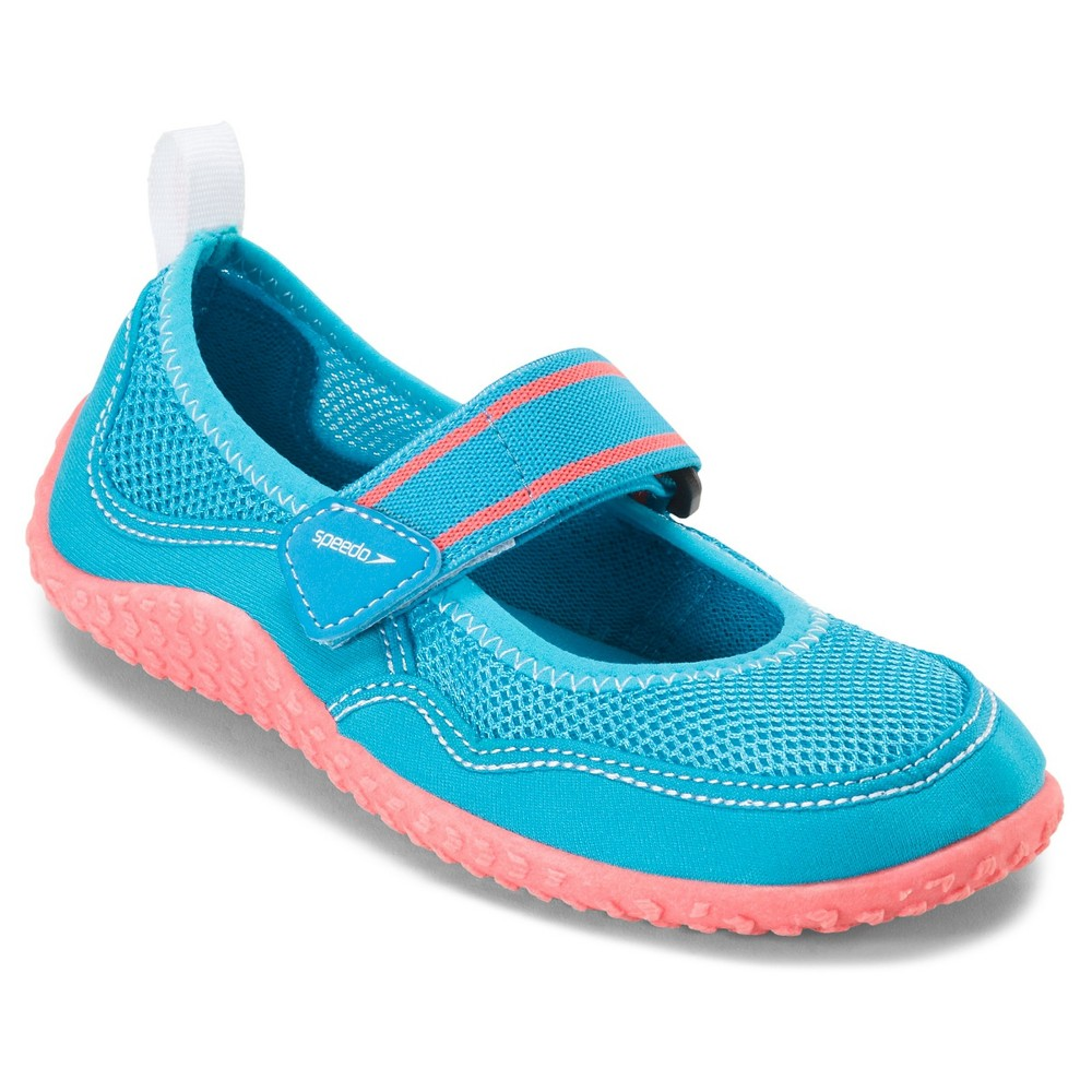 d321af313e7 Speedo Junior Girls Mary Jane Water Shoes - Coral (Pink) (Medium ...
