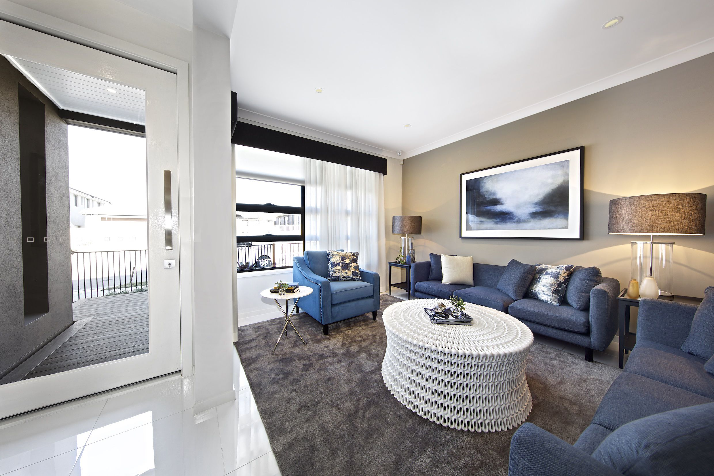 Clarendon Homes. Parkhill 34. Step just inside the front door to a ...