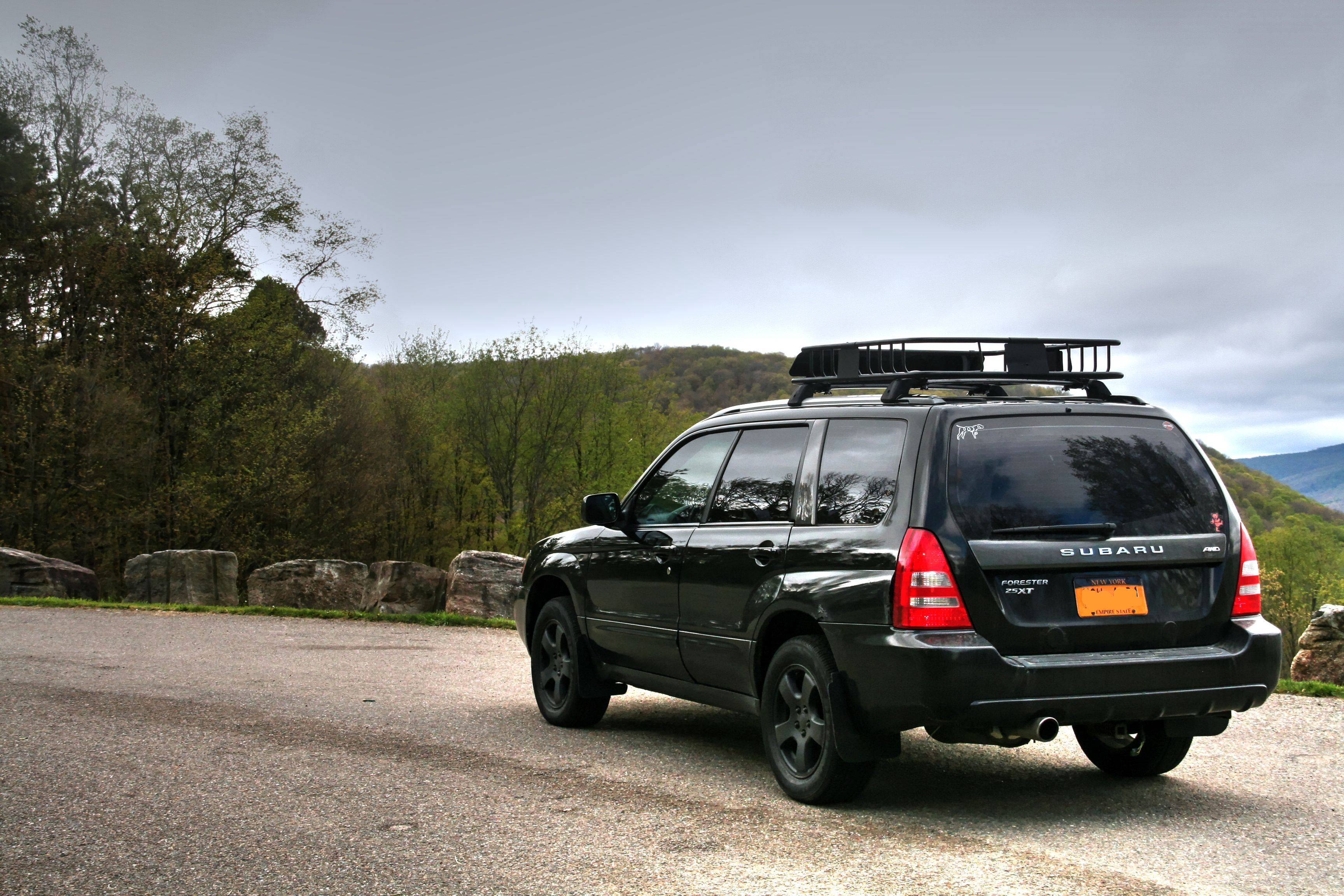 Sg Foz 2004 Java Black Subaru Fxt Turbo Forester In Allegany State Park In Nys Www Turboforester Org Outdoorsubarus Turboforester