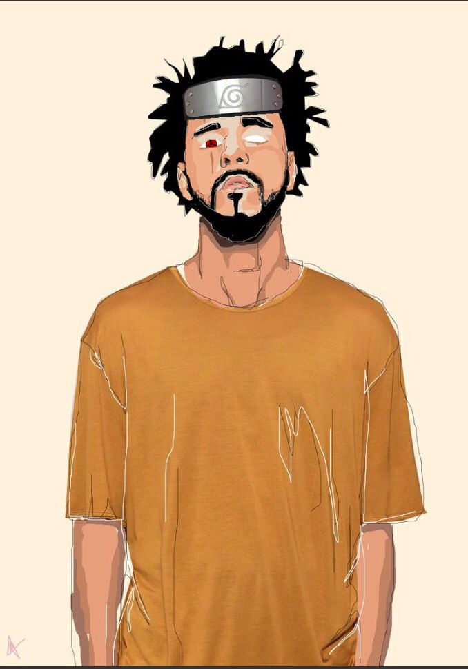 J Cole Uchiha J Cole Art Rapper Art J Cole