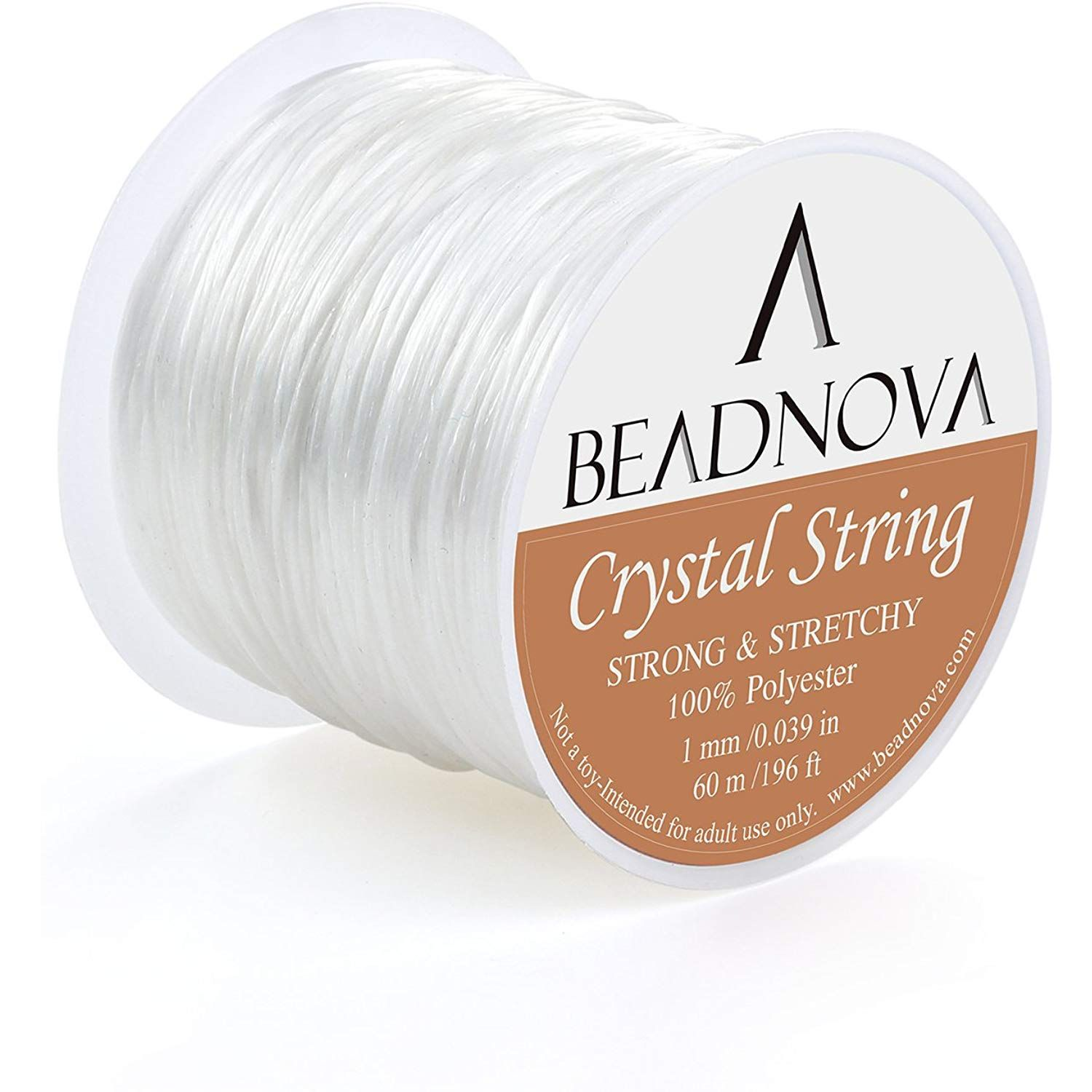Elastic Clear Beading Thread Stretch Polyester String Cords for Jewelry Making