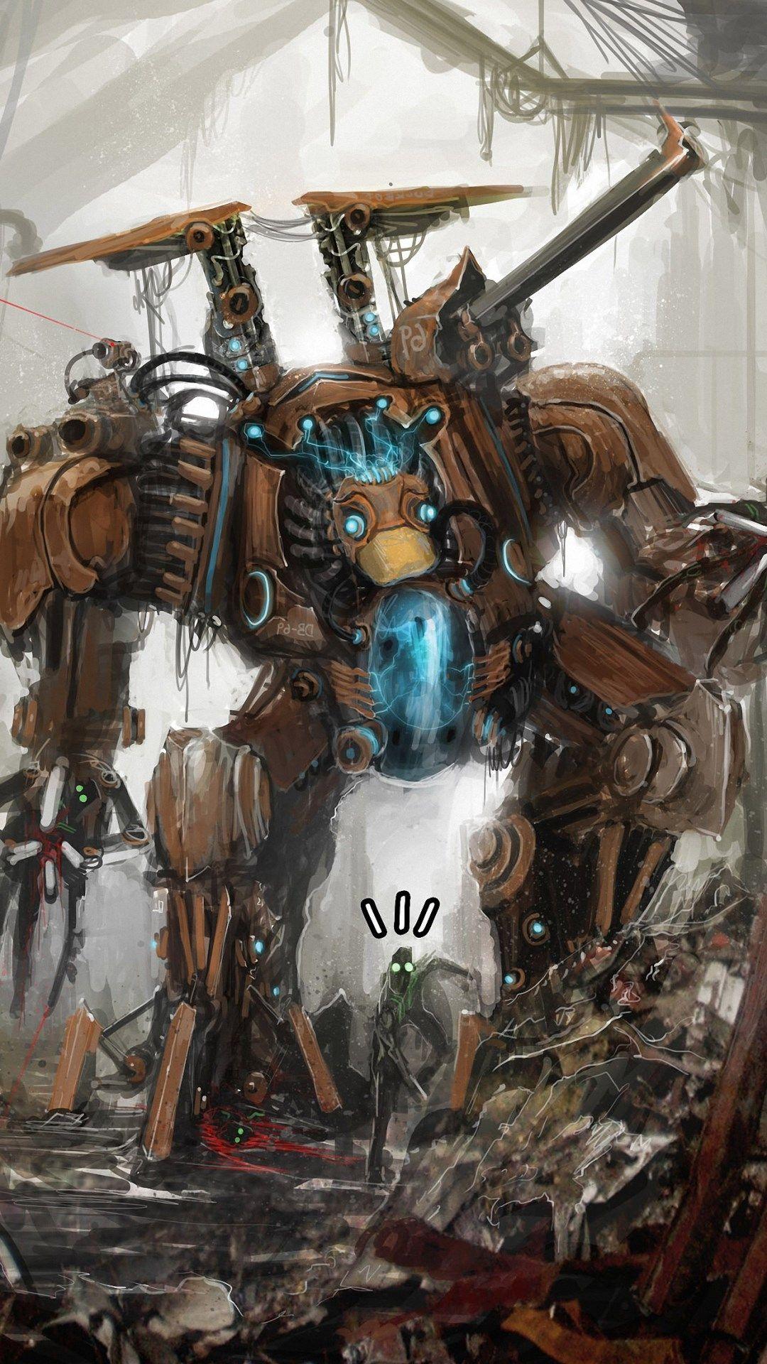 hd robot background for android | ololoshenka | robot, robot