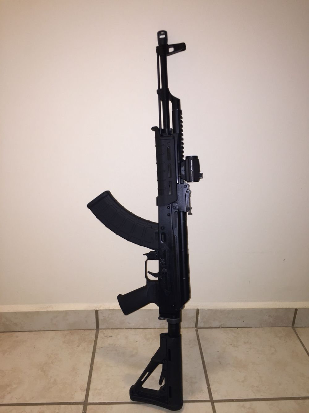 DDI with Magpul Furniture, Ultimak Rail, Primary Arms
