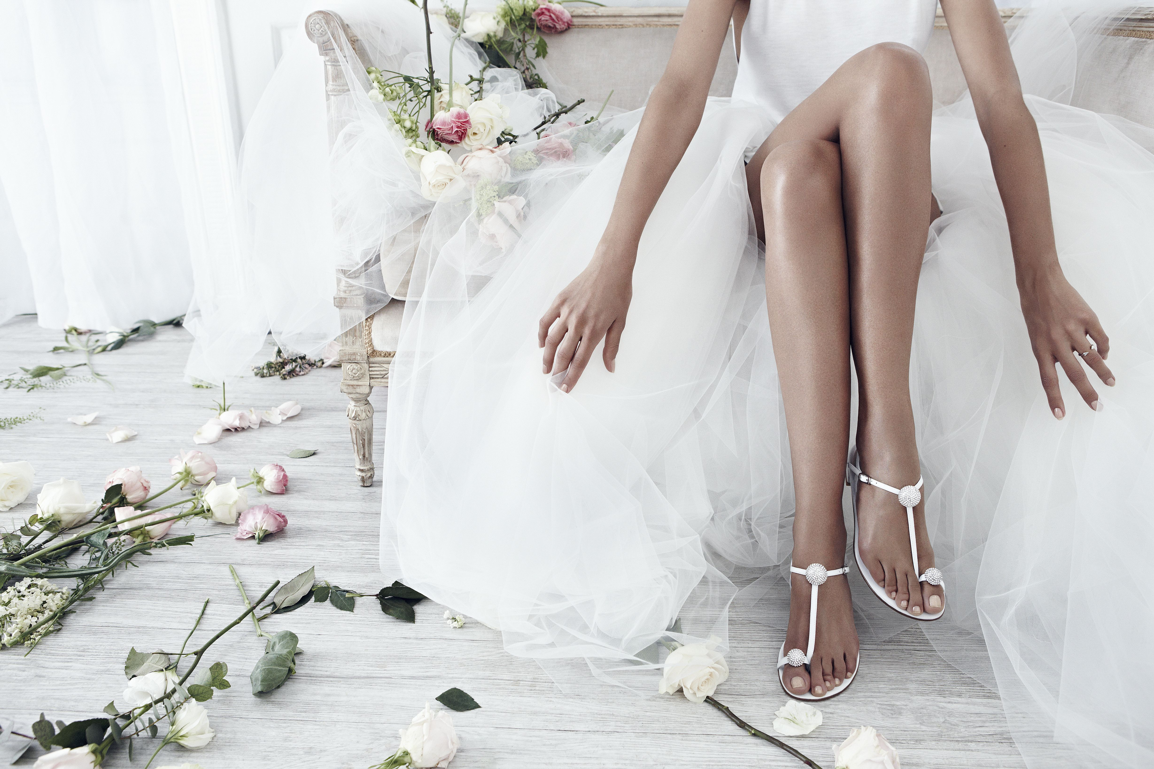 The stuart weitzman bridal collection has arrived calling all boho