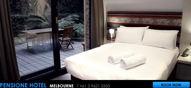 Pensione Hotel Melbourne - Boutique Hotel Melbourne CBD   CBD ...