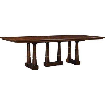 Baker Furniture Column Dining Table 8636g Thomas Pheasant Browse Products Dining Table At Home Furniture Store Dining