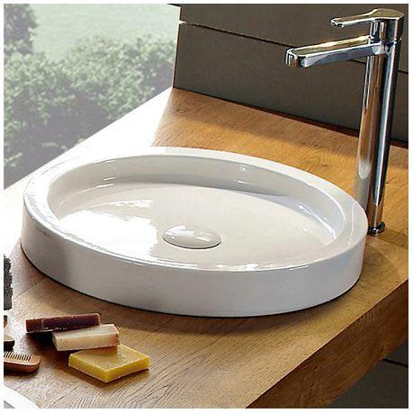Scarabeo Bucket Aufsatzwaschbecken 8811 - MEGABAD