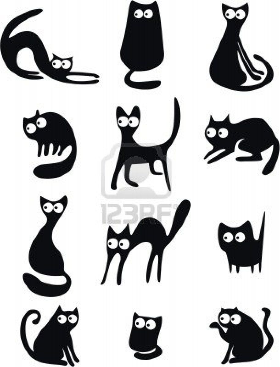 cat silhouettes Google Search........click here to