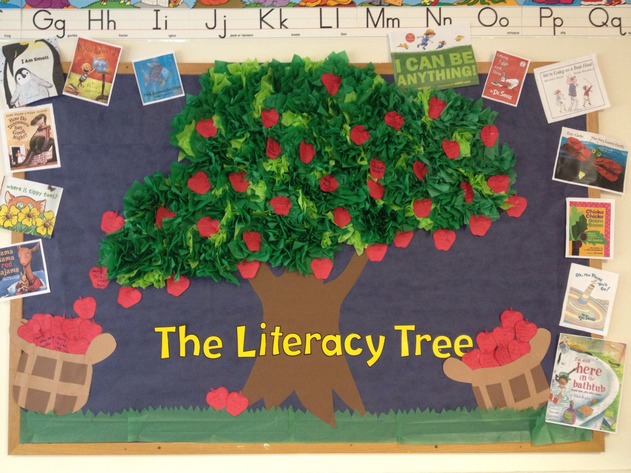 Apple Tree Classroom Ideas ~ D apple tree bulletin board aug nov school ideas