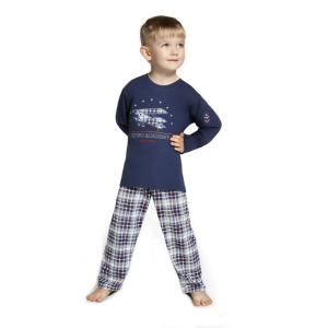 De Cornette Flying Academy kinderpyjama van Corazonkids blauw met geruite broek. De Cornette kinderpyjama van CorazonKids met een geruite broek is erg mooi en hip.. Het shirt heeft een leuke opdruk. De Cornette kinderpyjama van CorazonKids is van goede kwaliteit.