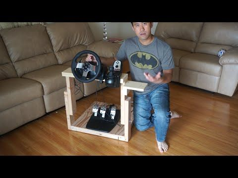 How To Make The Best Homemade Logitech G27 Gaming Wheel Stand In