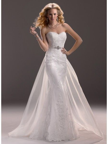 Maggie Sottero Spring 2013 - Style 3MS760DT Marianne Gown with Detachable Train