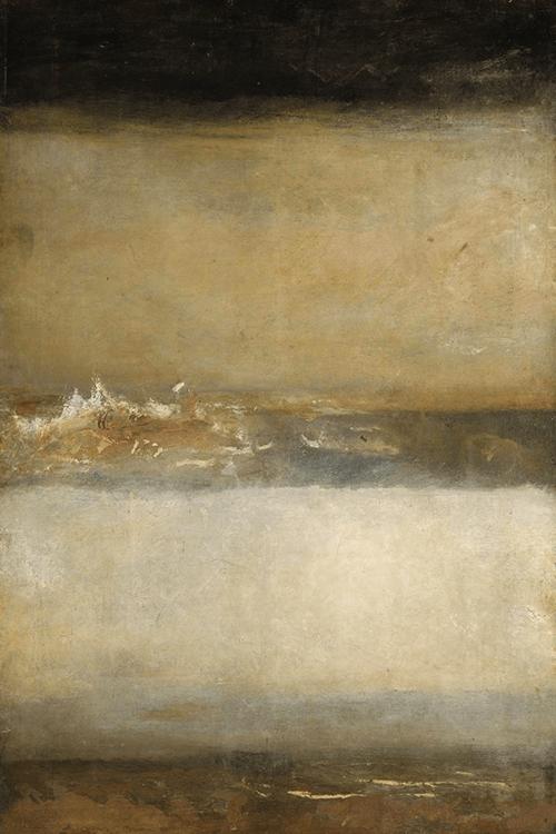 Peinture william turner j m w turner three seascapes c 1827 très belle peinture et très peu connue