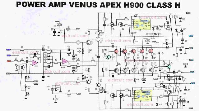 pcb power amplifier apex ax6 audio t