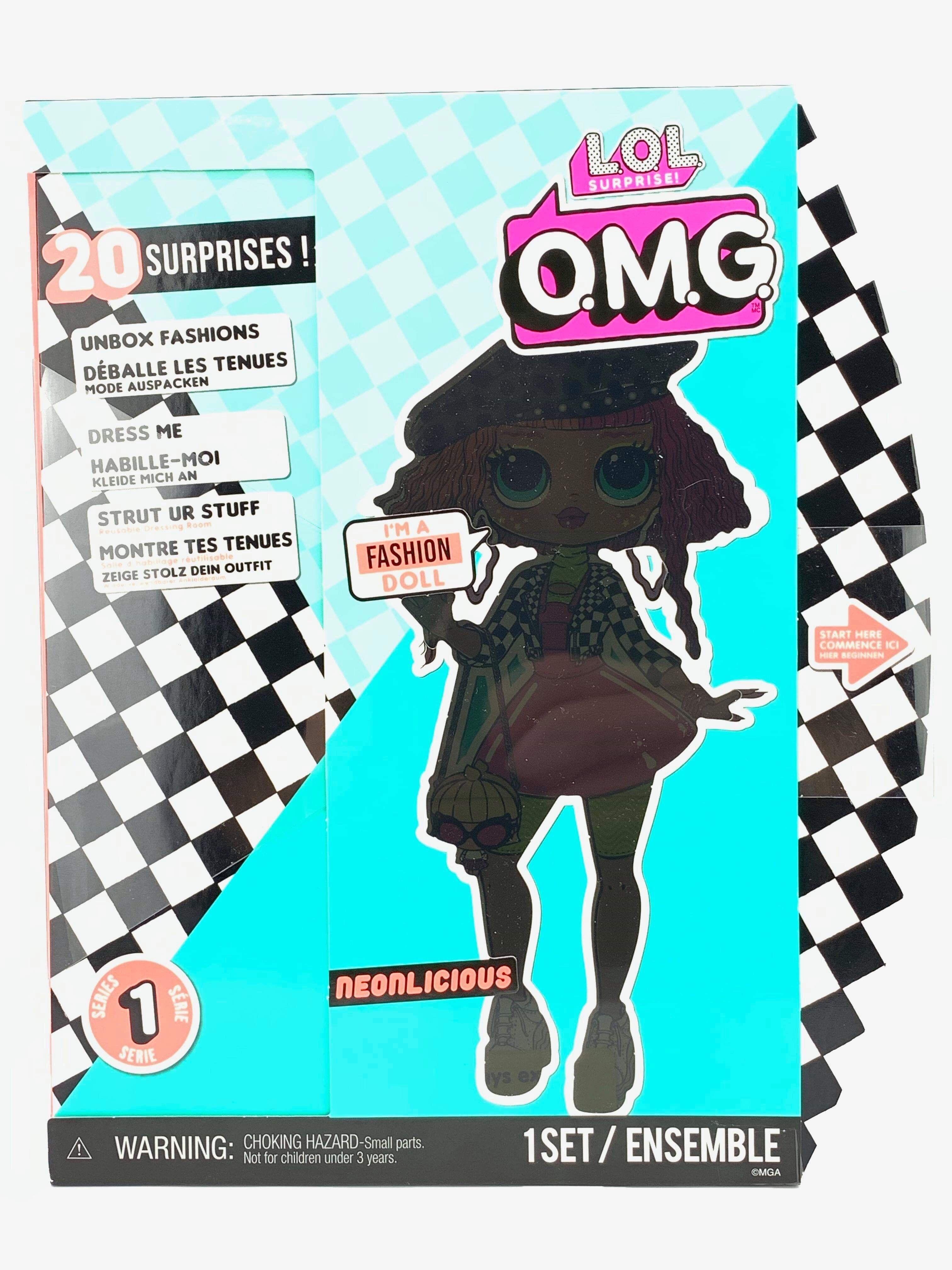 L O L Surprise O M G Neonlicious Fashion Doll With 20 Surprises Lol Omg Lol Dolls Fashion Dolls Lol