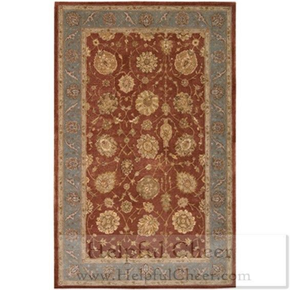 Nourison Hand-tufted Heritage Hall Brick Rug 2 x27 6 x 4 x27 2 - at - 01