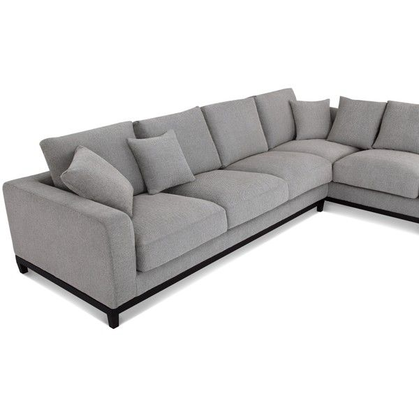 Kellan Sectional Sofa With Right Chaise Light Gray Capsule Liked