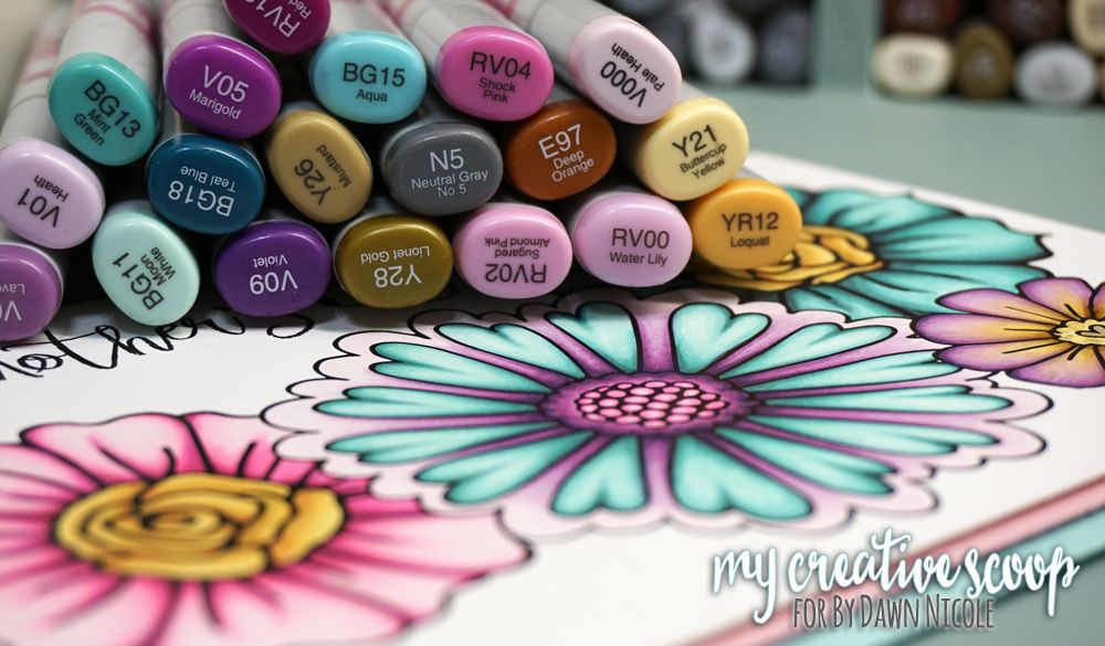 - Mother's Day Flowers Copic Tutorial & Free Copic E-Book Copic Markers  Tutorial, Copic Marker Art, Copic Coloring