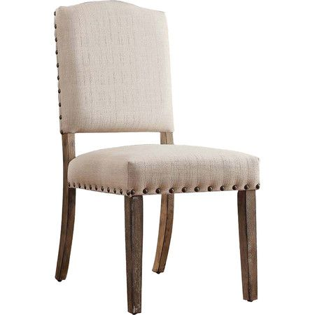 Sohan Side Chair In Beige Set Of 2 Dining Chairs