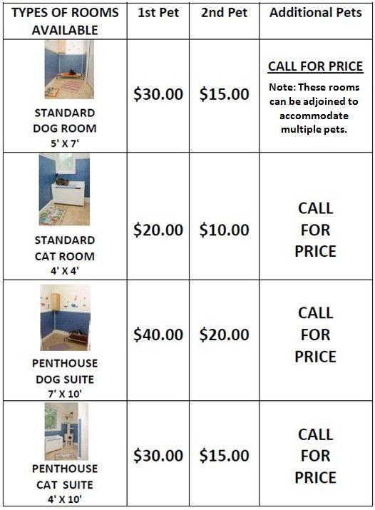 dog hotel prices