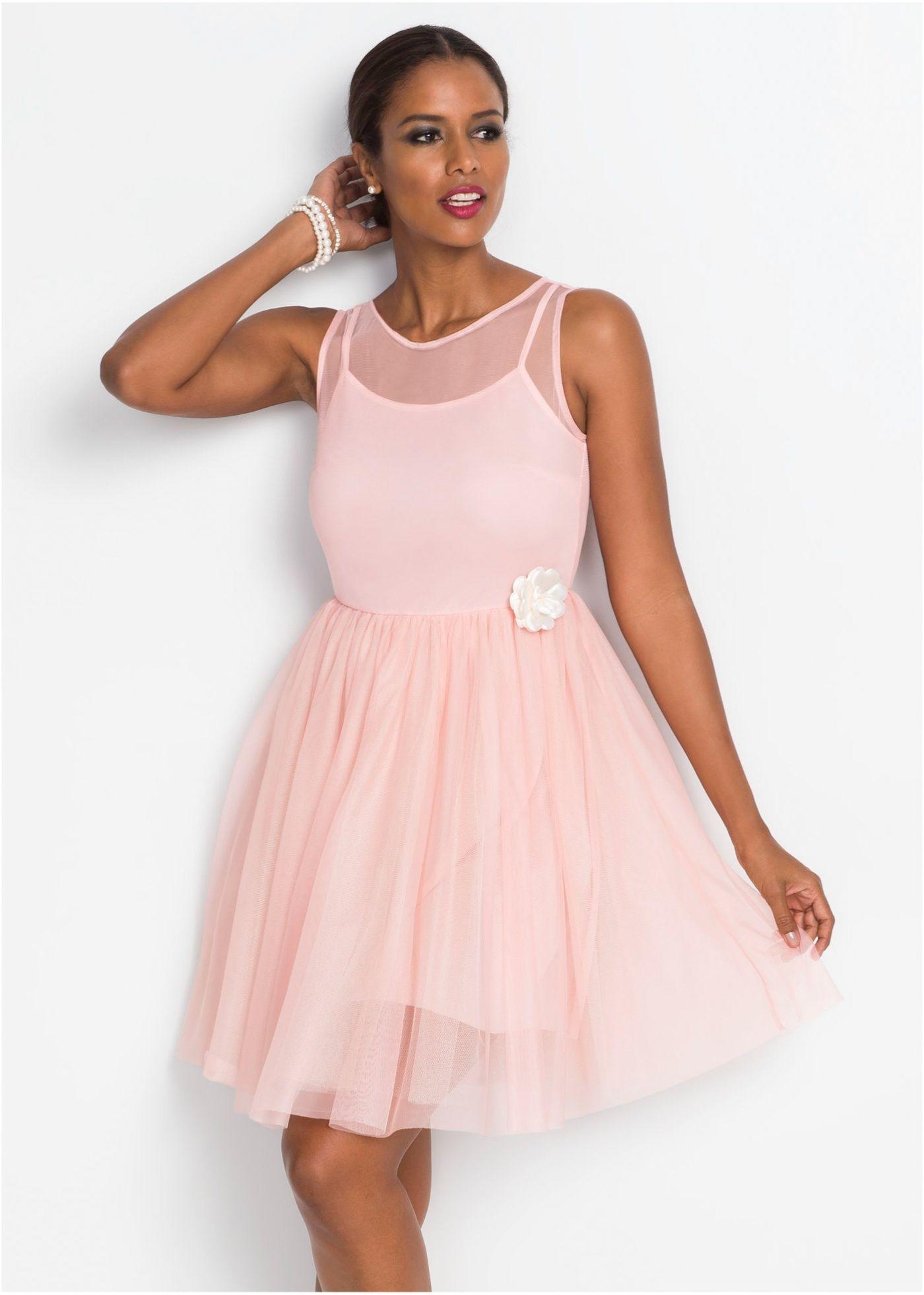 Spitzenkleid rosa jetzt im Online Shop von bonprix.de ab € 18,18