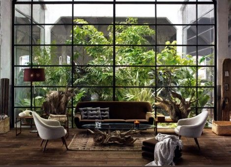 Woonkamer Eclectisch Inrichten : Modern en opvallend de woonkamer eclectisch inrichten apartment