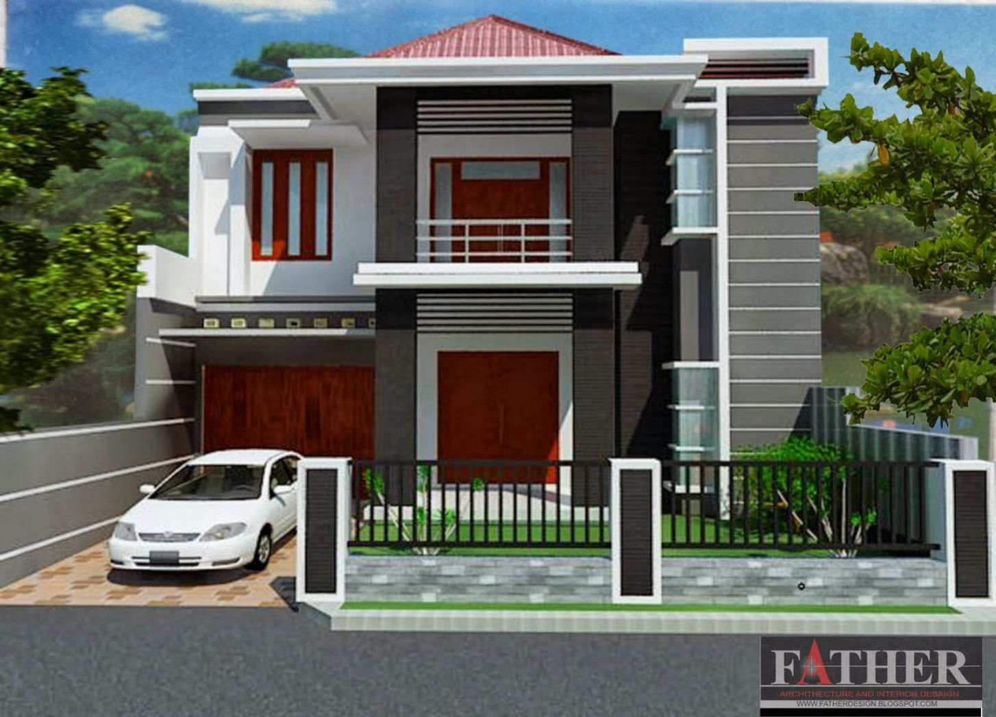 Charming Home Design Type 70 Part - 7: Rumah Minimalis Sederhana Type 70 Check More At Http://desainrumahkita.net/  · Minimalist House DesignHouse ...