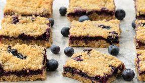 Blueberry Oatmeal Crumb Bars