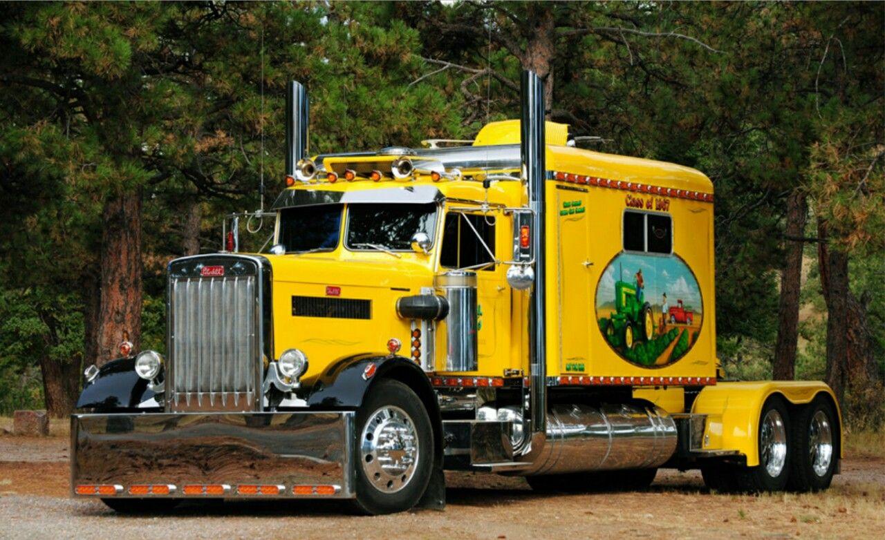 "1967 Peterbilt custom 351 ""Born to Boogie"" Deere on the side"