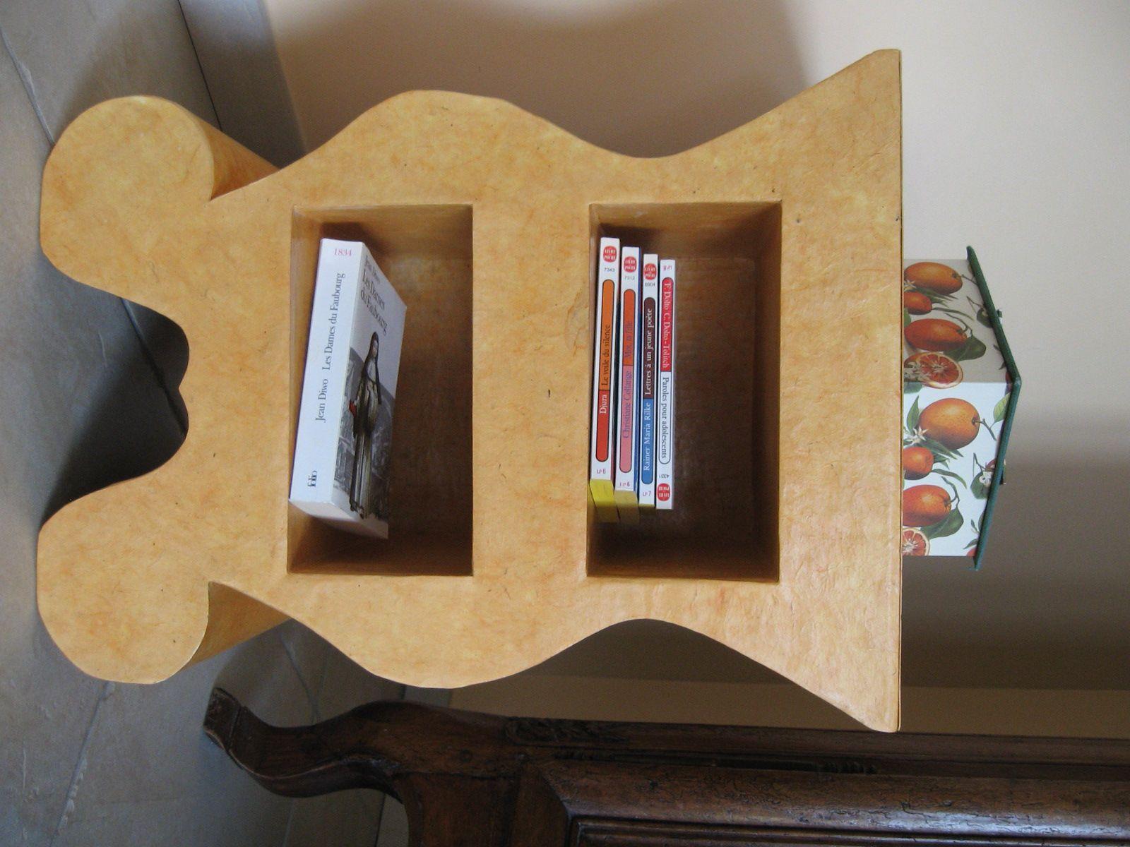 Des meubles en carton carton nages pinterest meuble en carton carton et mobilier de salon - Salon des travaux manuels ...