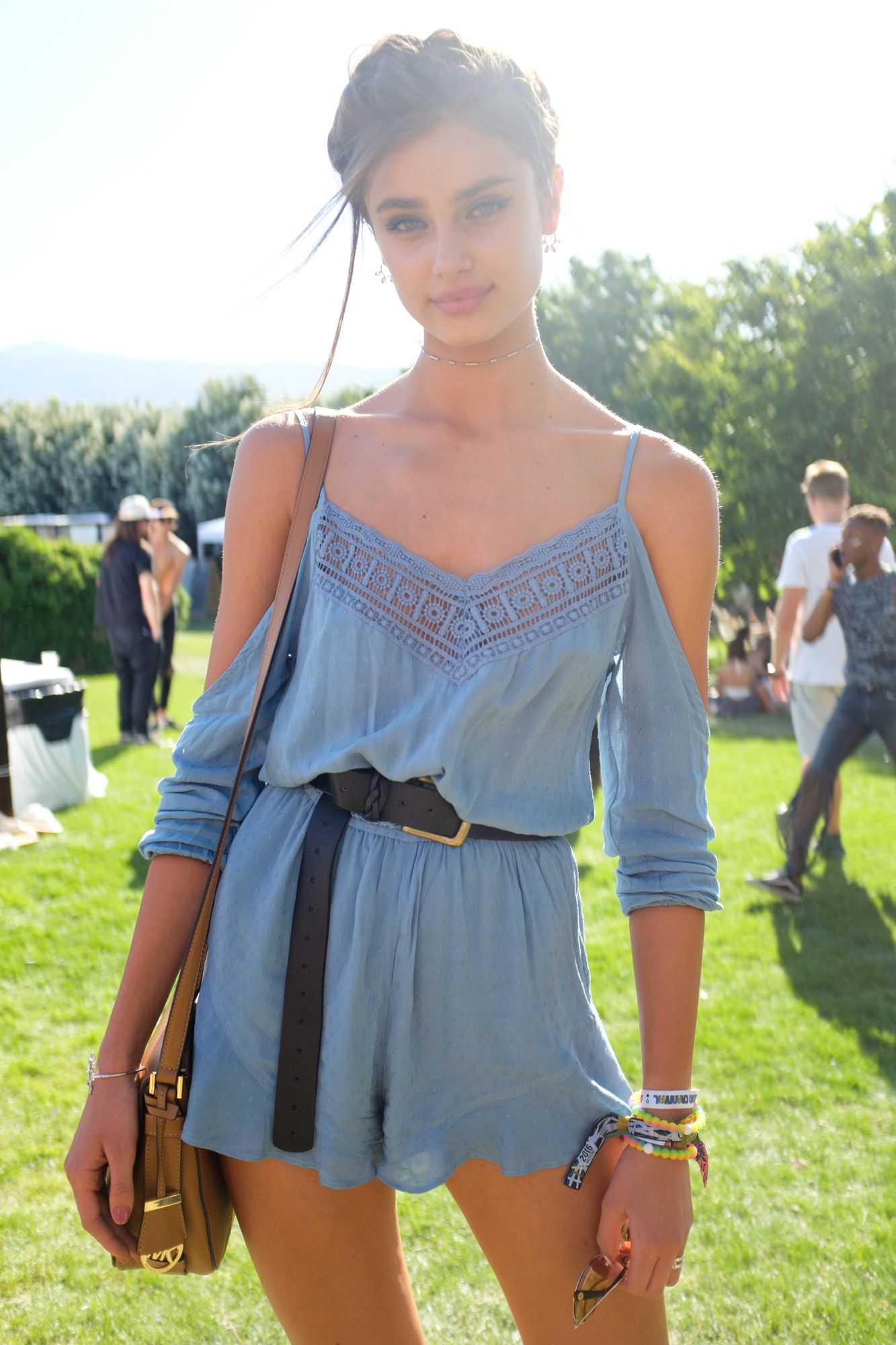 The Best Street Style From Coachella Taylor Hill