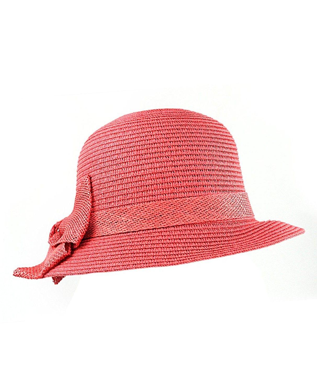 Hothead Wide Brim Sun Visor Hat in Graffiti with Pink Denim - CI11KF447AV  bf829be50961