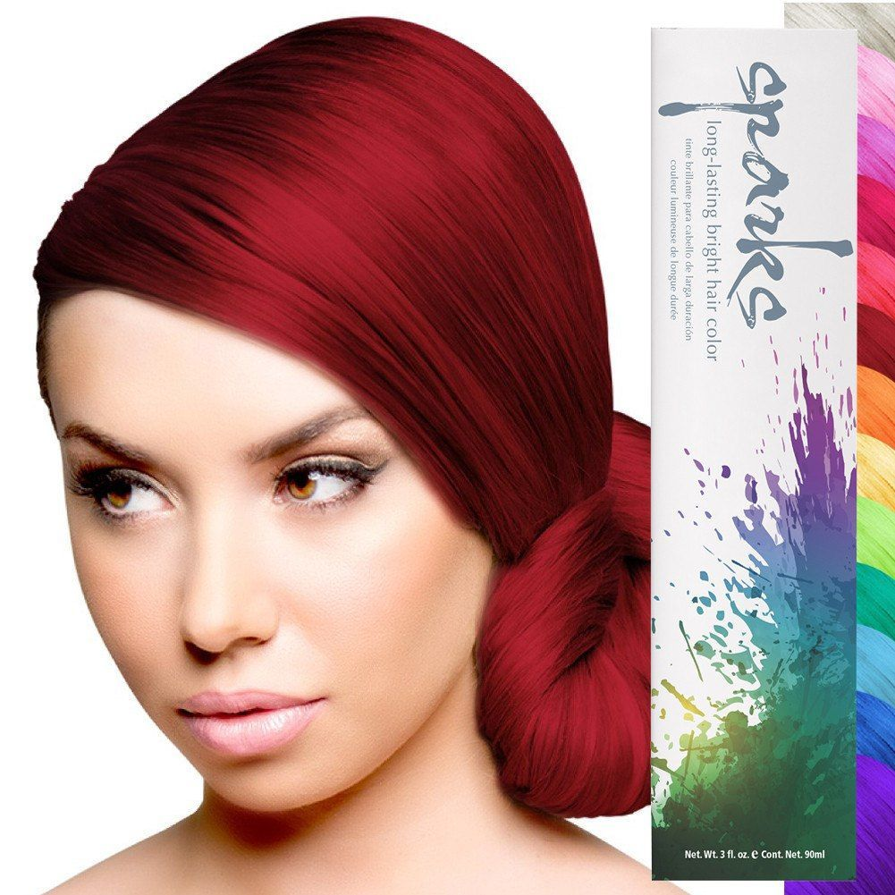 Sparks Professional Hair Color Bright Permanent Dye 3oz Hair