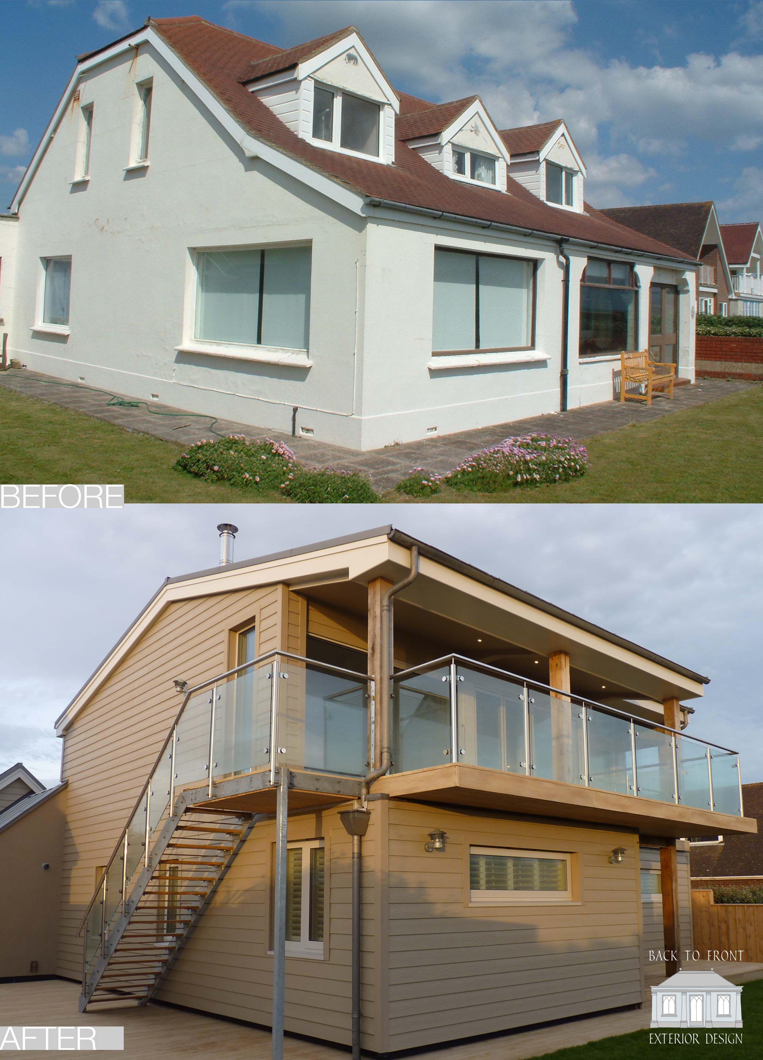 Back to Front Exterior Design Remodelling Scheme on the