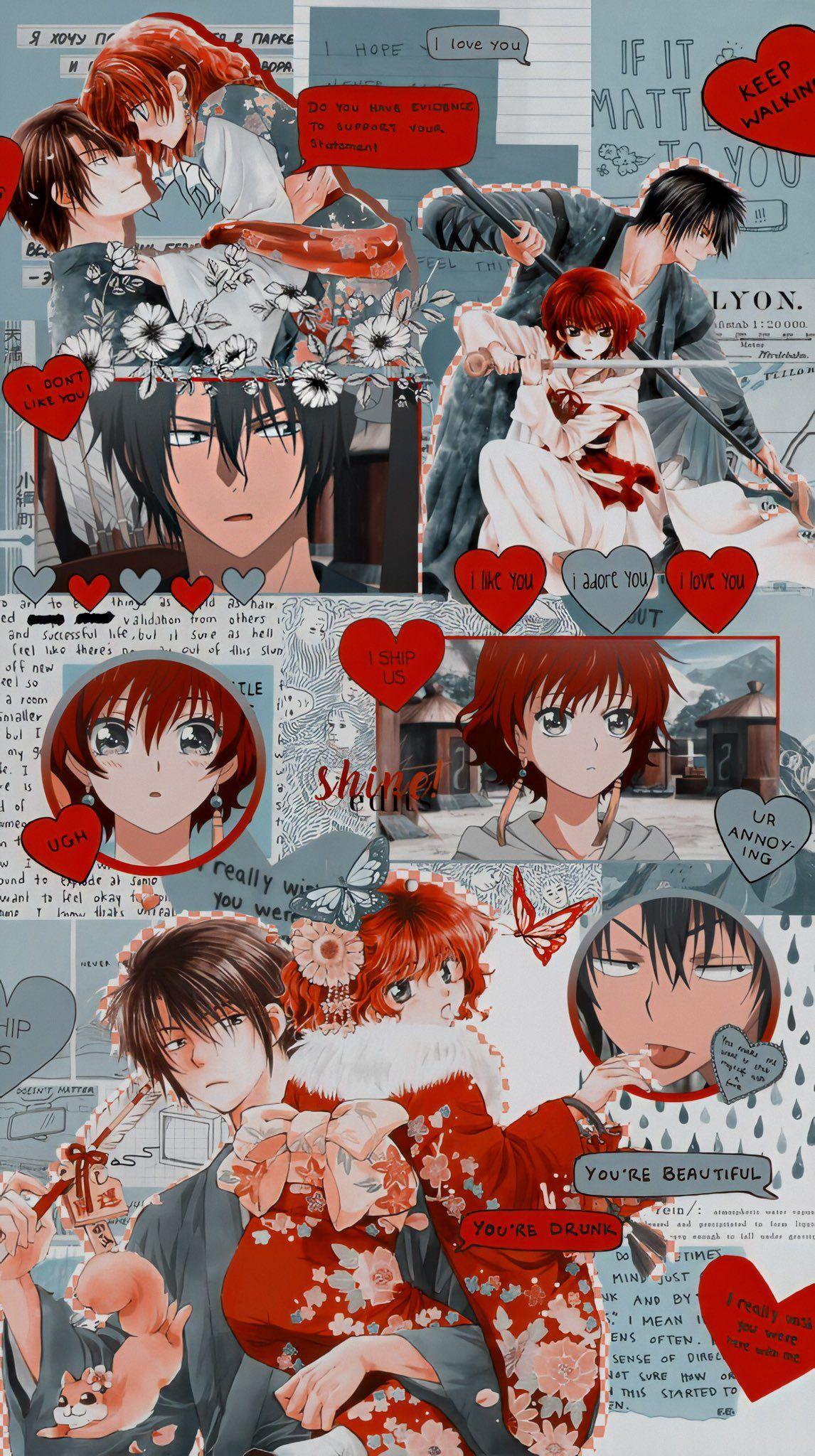 Akatsuki No Yona Wallpaper Yona Hak In 2020 Anime Wallpaper Cute Anime Wallpaper Anime Wallpaper Iphone