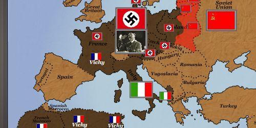 World War II: Europe Interactive Maps | World War II for Kids ...
